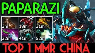 PAPARAZI Dota 2 [Weaver] Top 1 MMR China - 9800 MMR
