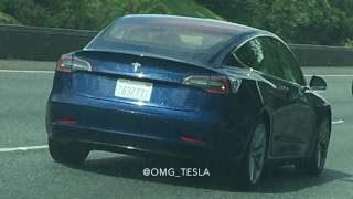 Tesla Model 3 Spotted testing different view