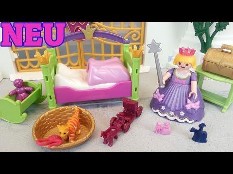 Playmobil Prinzessinnen Kinderzimmer 6852 auspacken seratus1 ...