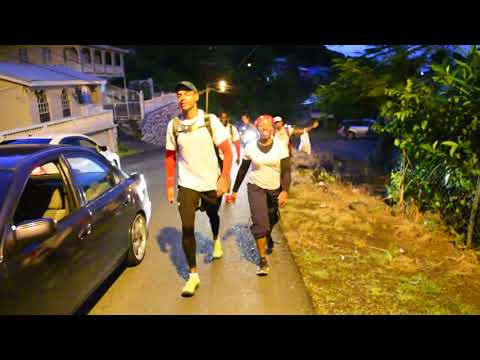 St. Lucia Around the island Independence challenge Walk 2018