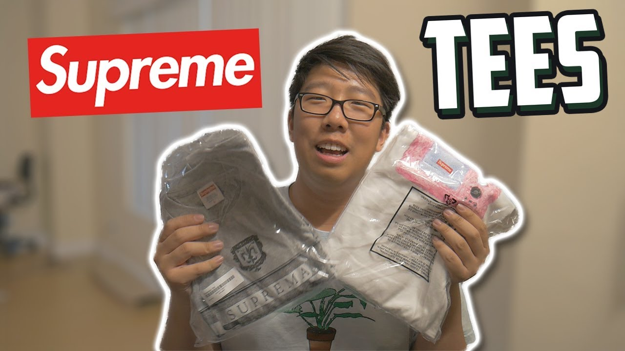 88266c869e5a SUPREME TV TEE AND FIORENZA TEE UNBOXING - YouTube