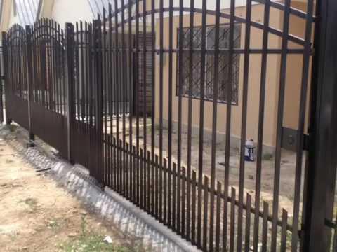 Rejas para casas youtube for Puertas para casas minimalistas