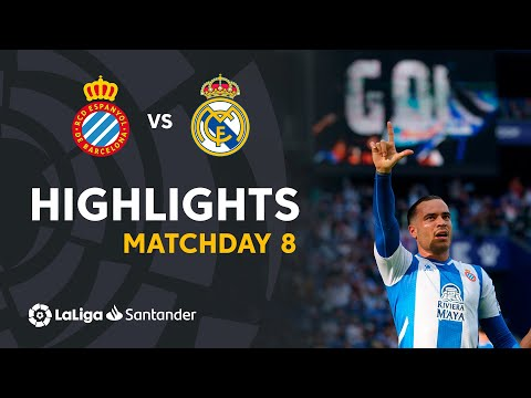 Espanyol Real Madrid Goals And Highlights