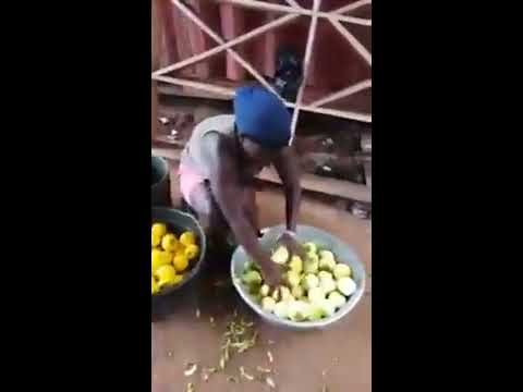 Video: Woman Arrested For Doing This Shocking Things To The Oranges She's Selling To People (Video)