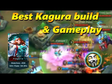 Mobile Legends BEST KAGURA BUILD by Yunique (94,8% winrate)