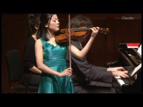 Janáček: Violin Sonata - 3. Allegretto (Lisa Ueda, Daniele Rinaldo)