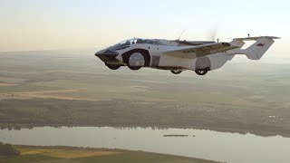video: 'New era' for transport as convertible flying car completes first flight