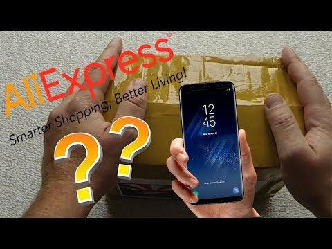 Samsung Galaxy S8 за 20.000р. С AliExpress. Распаковка!