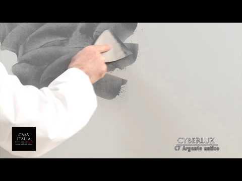 Ucic cyberlux effetto spatolato youtube - Vernice per muro interno ...