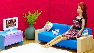 25のミニチュアドールハウスと家具のアイデア