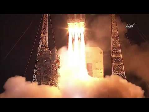 Nasa launches Parker Solar Probe in mission to 'touch the sun'