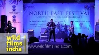 Frisky Pints band from Mizoram rocks Delhi