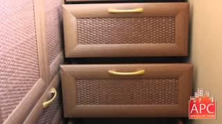 АРСеналстрой - угловой корпусный шкаф на балконе с радиусным терминалом(Компактные размеры лоджии можно задействовать с умом. Более того, при профессиональном подходе в небольшом..., 2015-03-05T08:53:56.000Z)