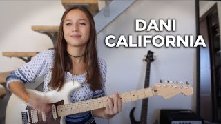 Red Hot Chili Peppers Dani California Cover By Chloé