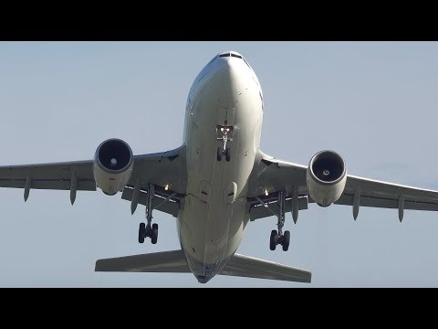 HEAD ON PLANE SPOTTING at Manchester Airport - A310, A330, A350, 747, 757, 787