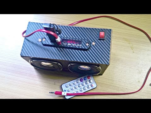 Make Your Own Cheap Portable MP3 Player (Part 2) | Bluetooth, USB, AUX, SD Card, FM