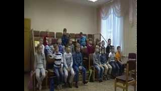 фрагмент урока в детской школе искусств. 12.09.2015. ХОР