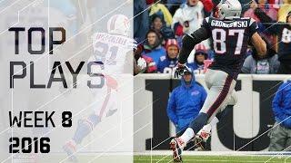 Top Plays (Week 8)   NFL