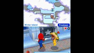 Mario & Sonic at the Olympic Winter Games (DS) - Adventure Tours Playthrough Part 1