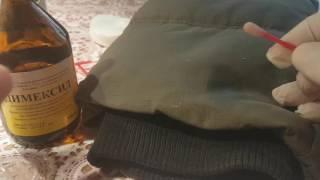 Чем можно очистить монтажную пену с одежды