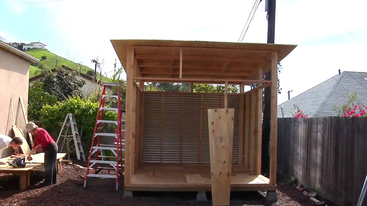 Build your own modern shed for Build your own modern home