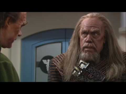 Why Klingons look that way in the 23rd century