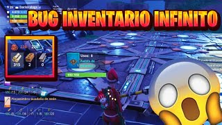 How to have AN INFINITE INVENTORY Fortnite Save the World/ 1 like more bugs