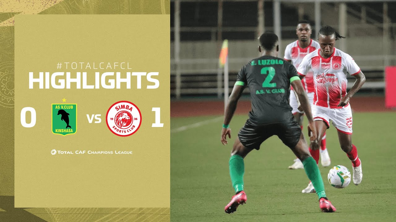 Download HIGHLIGHTS | AS Vita Club 0-1 Simba SC | MD 1 | TotalCAFCL