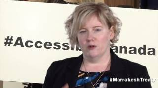Canada Minister of Sport and Persons with Disabilities on Marrakesh Treaty