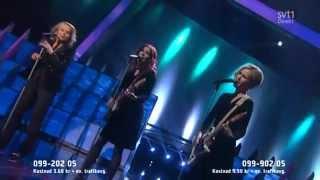 Louise Hoffsten - Only The Dead Fish Follow The Stream - Melodifestivalen 2013 Final Lyrics