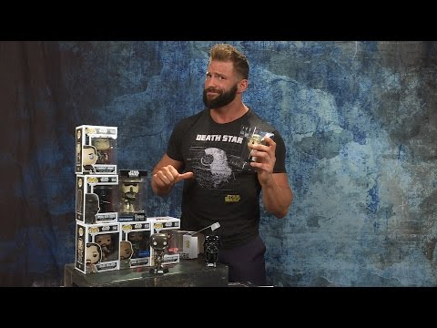 """""""Rogue One: A Star Wars Story"""" Funko Pop! vinyl bobblehead unboxing with Zack Ryder"""