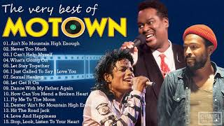 Marvin Gaye, The Jackson 5, Al Green, Luther, Smokey Robinson - Best Motown Songs 70s 80s