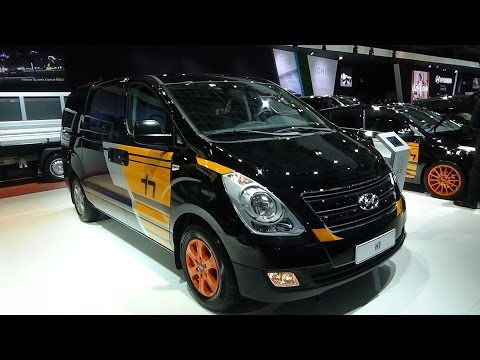 2017 Hyundai H1 Exterior and Interior Auto Show Brussels 2017