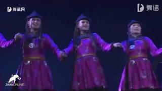 Бурятский танец - Ехор на канале ZaanOnline
