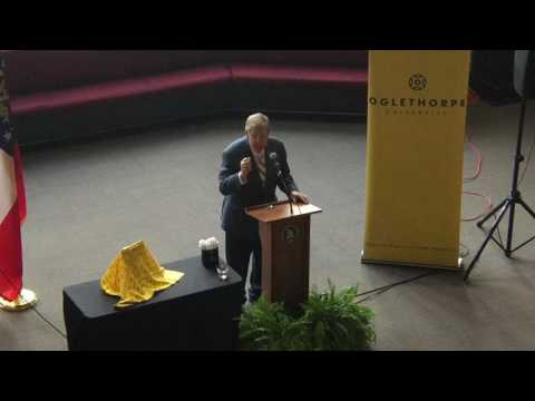 Senator Johnny Isakson at Oglethorpe University, 9/19/16