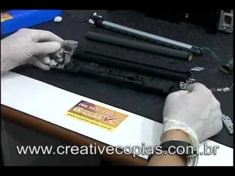 Video Aula Troca Película do Fusor HP 1120, M1120, M1120MFP