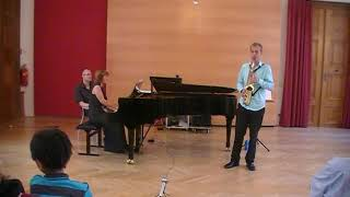 F. Decruck – Sonata in C# (first movement) | Michael Krenn & Eugenia Radoslava