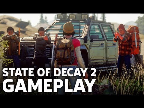 State of Decay 2 Gameplay: 8 Minutes Of Salvage And Survival