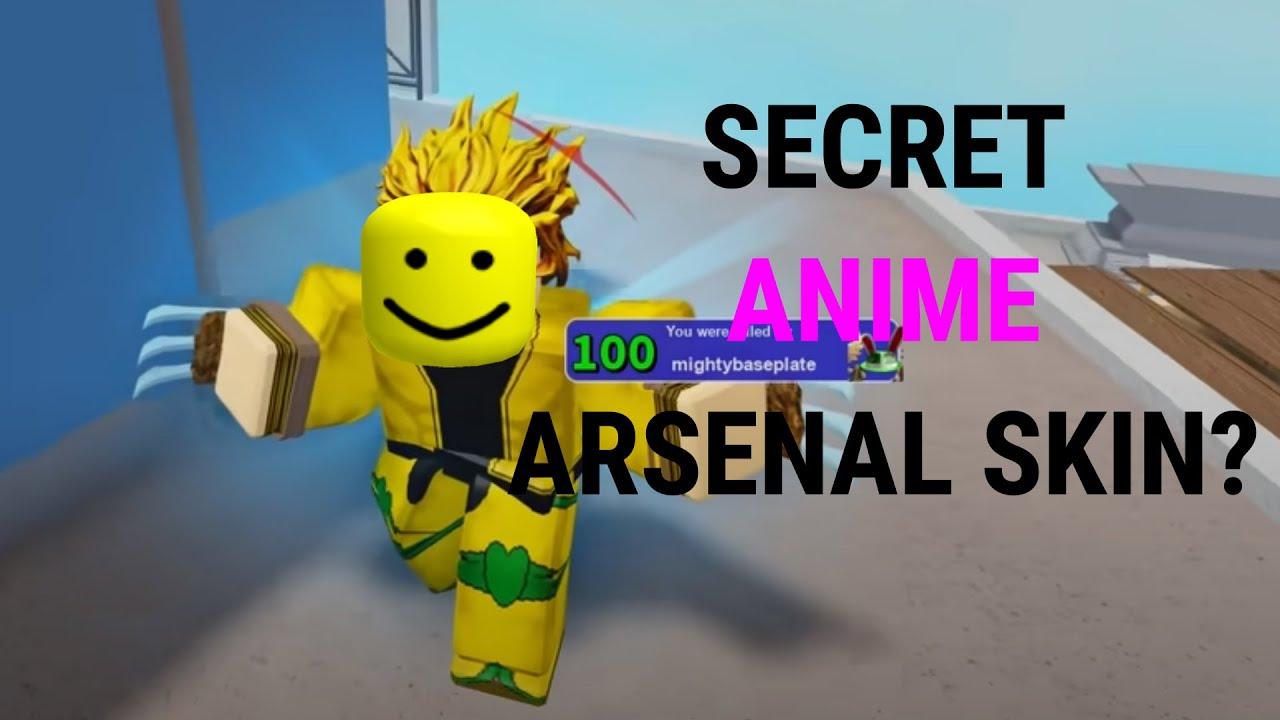 secret developer exclusive anime skin in arsenal