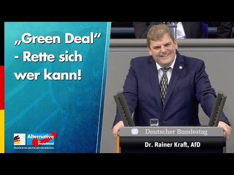 """Green Deal"" - Rette sich wer kann! - Dr. Rainer Kraft"