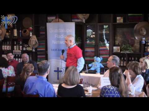 "Jim ""Mattress Mack"" McIngvale speaking at the KSHJ 1430 AM Prayer Breakfast"