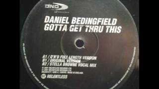 Daniel Bedingfield - Gotta Get Thru This (Original Version)(TO)