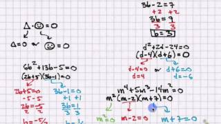 Solving Polynomial Equations by Factoring (C8V11)