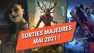 RESIDENT EVIL VILLAGE, DLC D'AC VALHALLA , MASS EFFECT... LES JEUX SWITCH, PS5 ET XBOX DE MAI !
