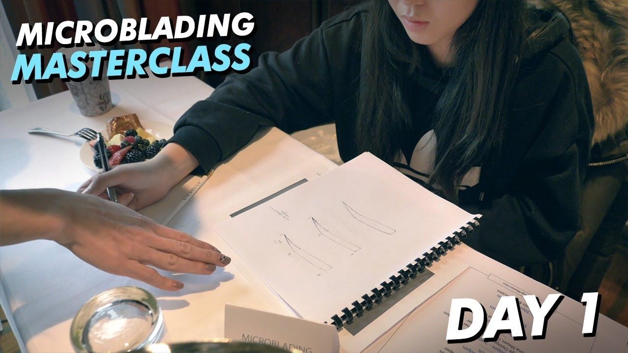 Microblading Training Masterclass | EYE DESIGN UNIVERSITY