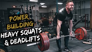 Heavy Lower Body Day Power Building Routine | Episode 4 | Prime Fam Lifts!