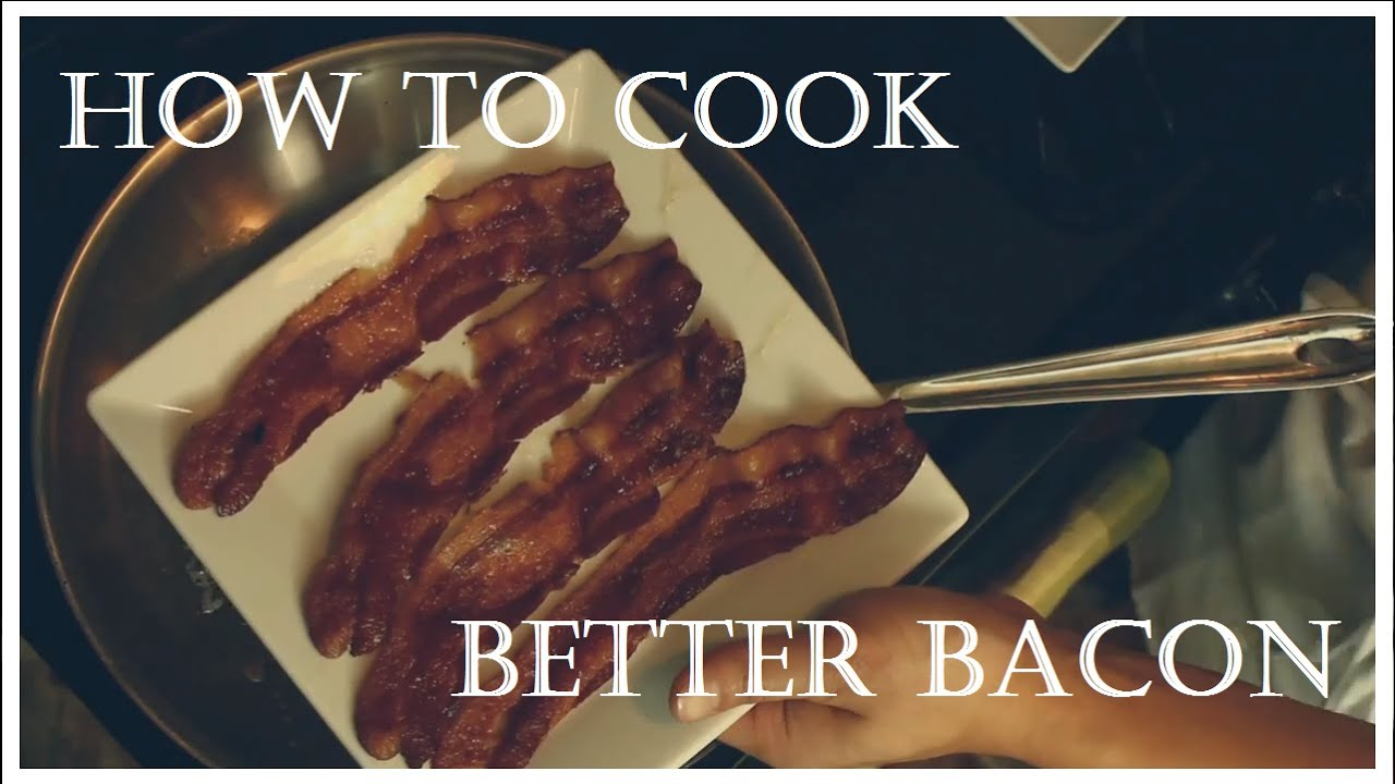 how to cook crispy bacon uk
