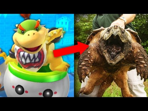 11 NINTENDO CHARACTERS THAT EXIST IN REAL LIFE!