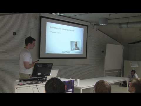 GDS 2013: Tomáš Blaho (Warhorse Studios) - Týmová práce herního programátora