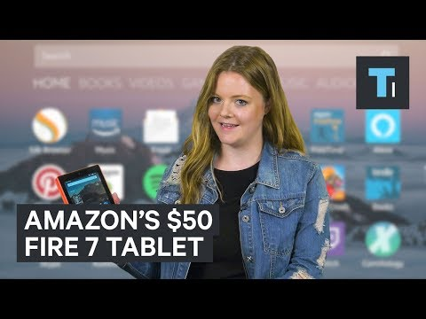 We tried Amazon's $50 tablet — here's what it's like